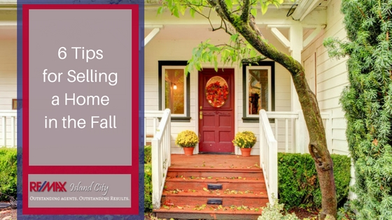 Selling a home in the fall