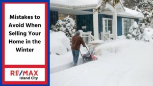 mistakes to avoid when selling your home in the winter