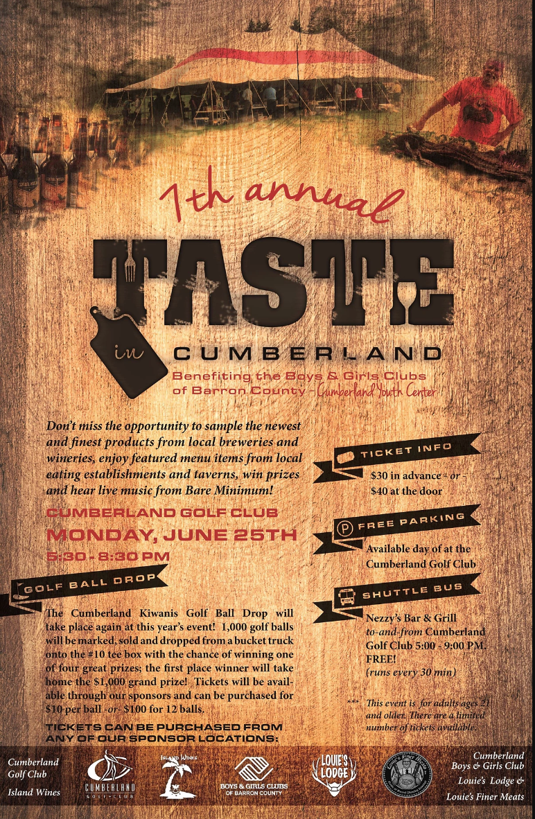 Taste In Cumberland